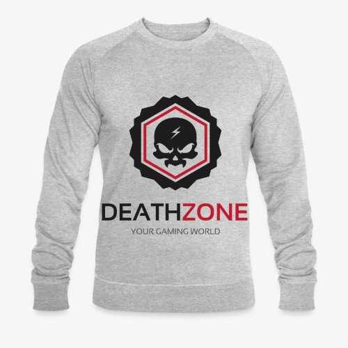 DeathZone Logo Avatar - Ekologiczna bluza męska