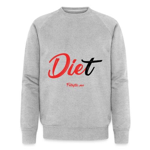 Diet by Fatastic.me - Men's Organic Sweatshirt
