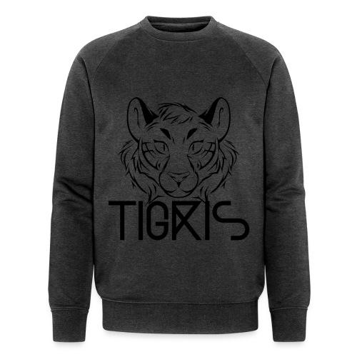 Tigris Logo Picture Text Black - Men's Organic Sweatshirt by Stanley & Stella