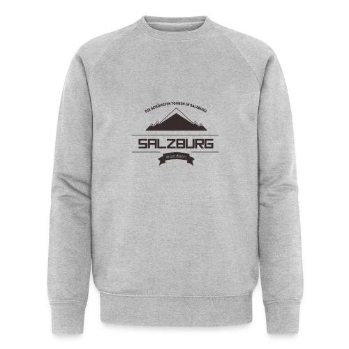 Salzburg-Wandern Logo - Männer Bio-Sweatshirt von Stanley & Stella