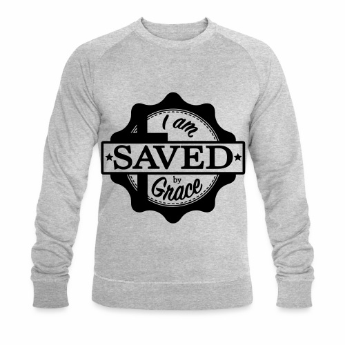 Saved by grace - Sweat-shirt bio