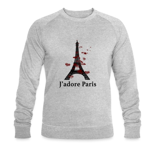 Design paris j'adore paris - Sweat-shirt bio Stanley & Stella Homme
