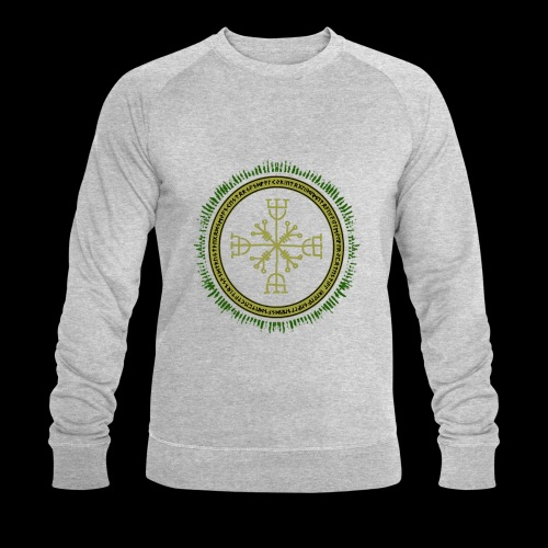 Norse Runes with Aegishjalmur 2017 - Men's Organic Sweatshirt by Stanley & Stella