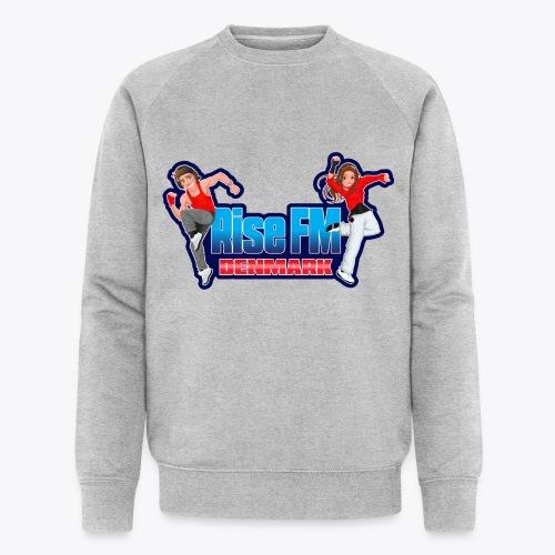 Rise FM Denmark Full Logo - Økologisk Stanley & Stella sweatshirt til herrer