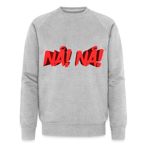 NÅ! 3D - Økologisk sweatshirt til herrer