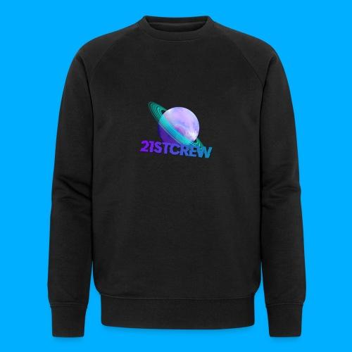 PurpleSaturn T-Shirt Design - Men's Organic Sweatshirt by Stanley & Stella