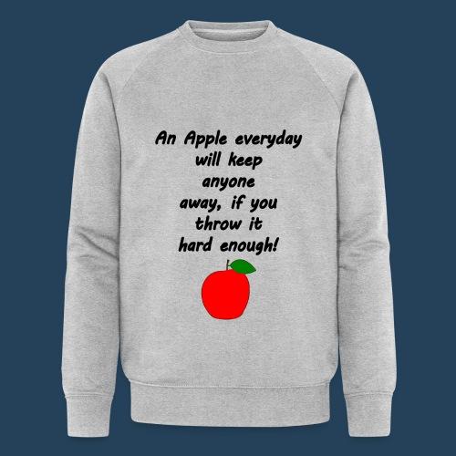 Apple Doctor - Männer Bio-Sweatshirt von Stanley & Stella