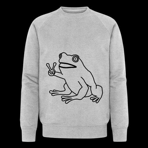 Funny Animal Frog Frosch - Männer Bio-Sweatshirt von Stanley & Stella