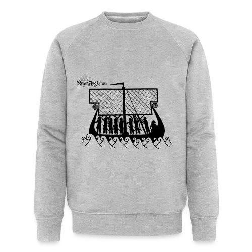 Transparent Boat - Men's Organic Sweatshirt