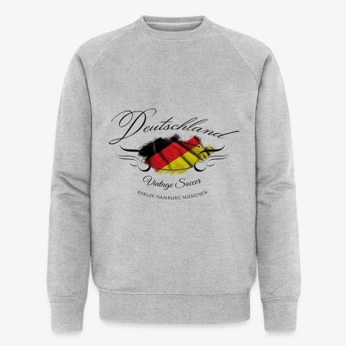Vintage Deutschland - Männer Bio-Sweatshirt von Stanley & Stella
