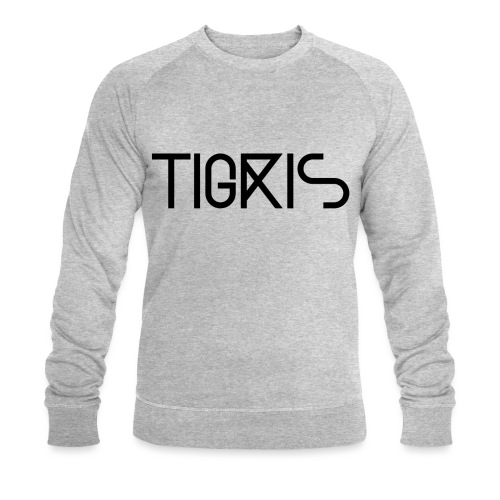 Tigris Vector Text Black - Men's Organic Sweatshirt by Stanley & Stella