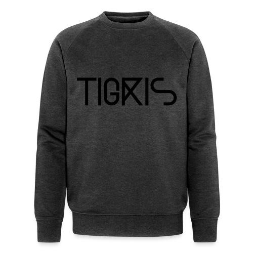 Tigris Vector Text Black - Men's Organic Sweatshirt by Stanley & Stella