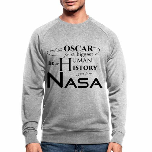 Flat Earth Nasa - Männer Bio-Sweatshirt