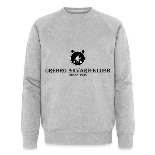 Nyloggatext1 - Ekologisk sweatshirt herr