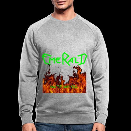 htgkbutton - Männer Bio-Sweatshirt