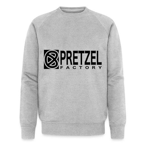 Pretzel Factory Logo Noir - Sweat-shirt bio Stanley & Stella Homme