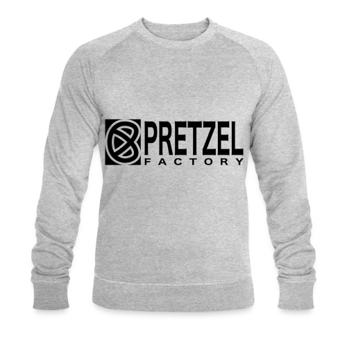 Pretzel Factory Logo Noir - Sweat-shirt bio