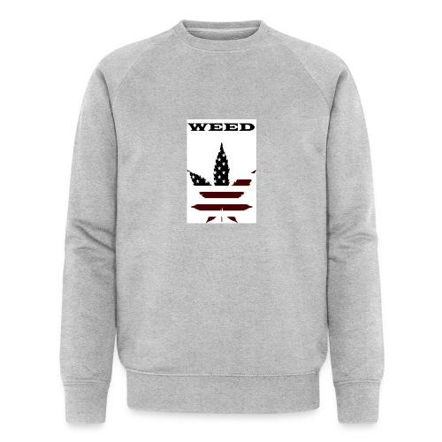 WEED Shirt - Männer Bio-Sweatshirt von Stanley & Stella