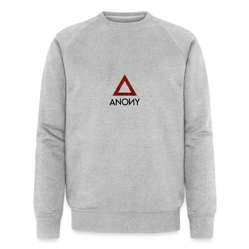 Anony Logo - Sudadera ecológica hombre