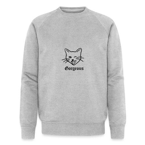 gorgeous cat - Mannen bio sweatshirt van Stanley & Stella