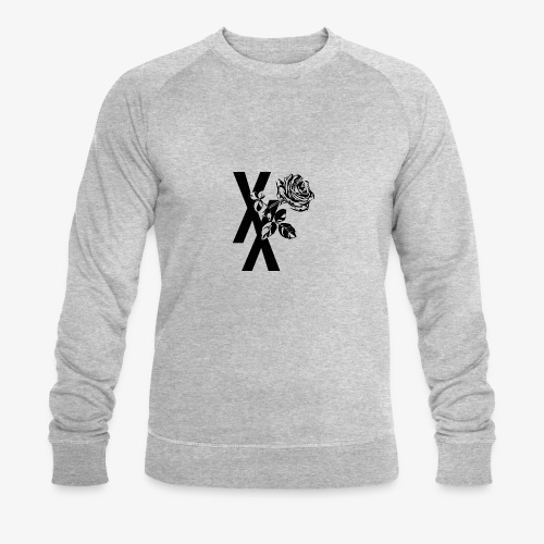 EST19XX ROSE - Mannen bio sweatshirt