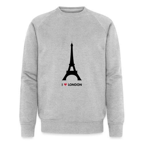 I love London - Mannen bio sweatshirt