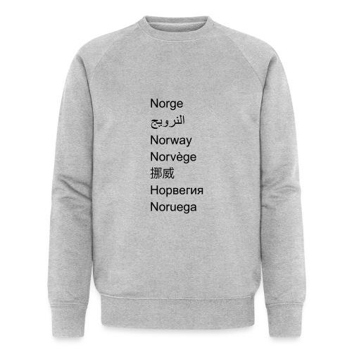 FN-Norge - plagget.no - Økologisk sweatshirt for menn fra Stanley & Stella