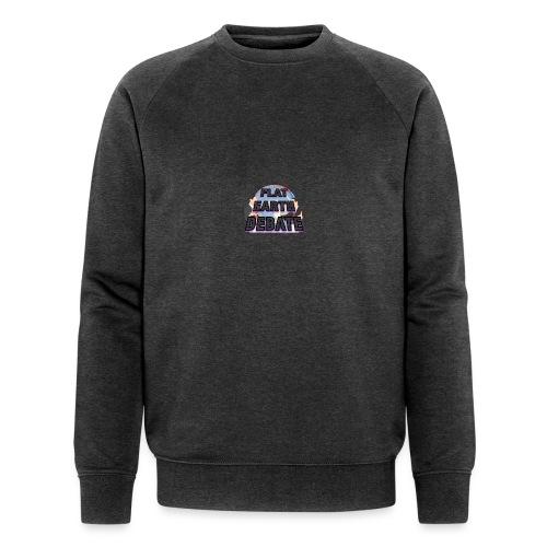 Flat Earth Debate - Men's Organic Sweatshirt by Stanley & Stella