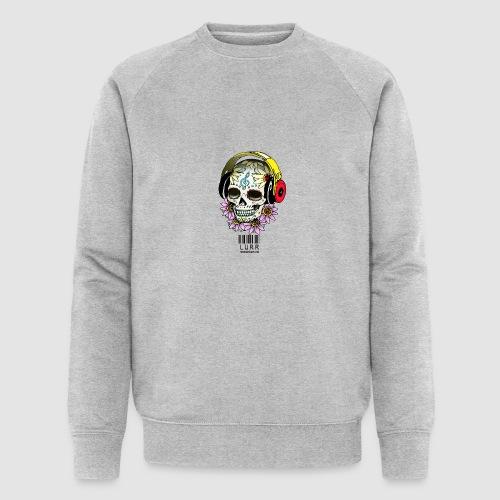 smiling_skull - Men's Organic Sweatshirt