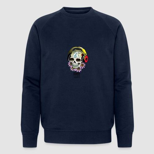 smiling_skull - Men's Organic Sweatshirt by Stanley & Stella