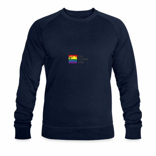GOC Logo Black Text - Men's Organic Sweatshirt