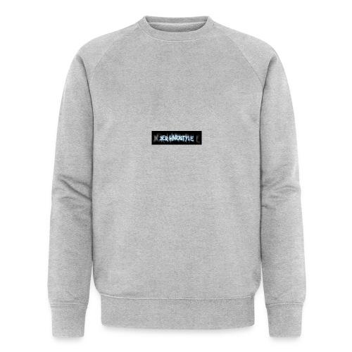 DerHardstyle.ch Kleines Logo - Männer Bio-Sweatshirt