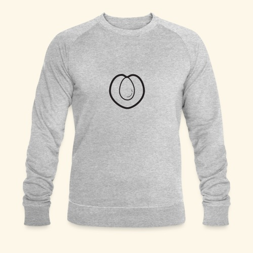 fruits and veggies icons peach 512 - Økologisk Stanley & Stella sweatshirt til herrer