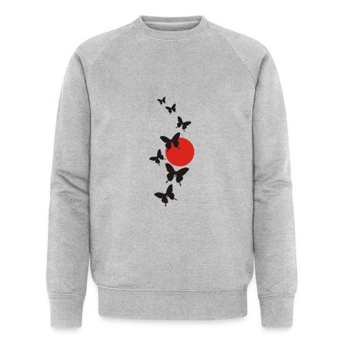 Butterfly - Männer Bio-Sweatshirt
