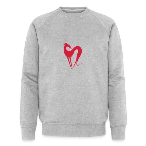 Windhund - Männer Bio-Sweatshirt von Stanley & Stella