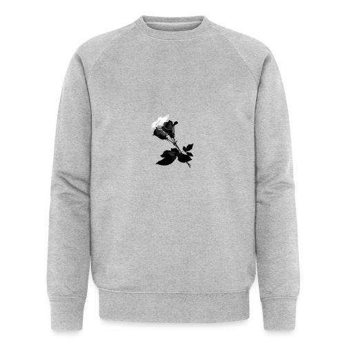 Black and White Rose Bundle - Men's Organic Sweatshirt by Stanley & Stella