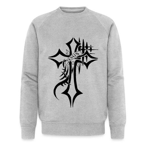 cross - Økologisk sweatshirt for menn fra Stanley & Stella
