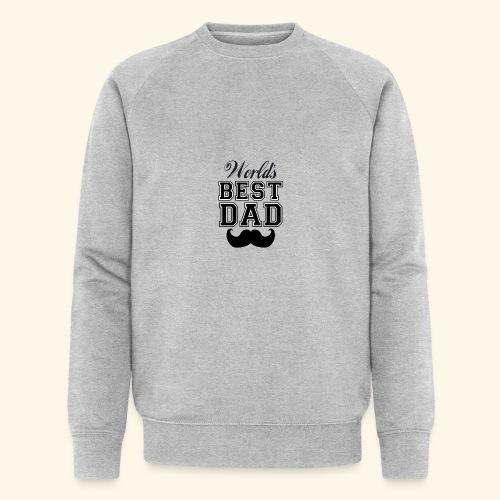 Worlds best dad - Økologisk Stanley & Stella sweatshirt til herrer