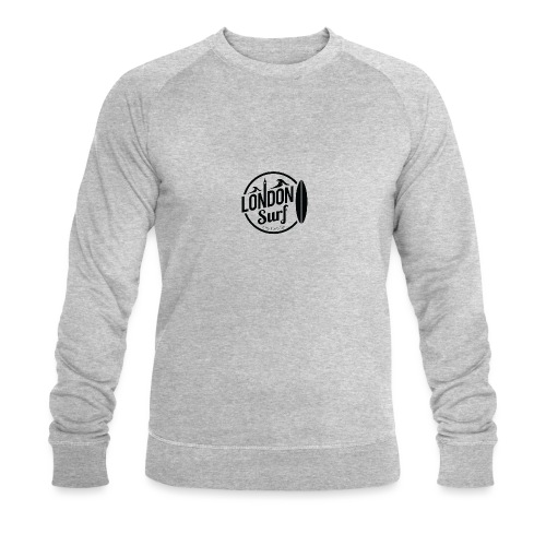 London Surf - Black - Men's Organic Sweatshirt