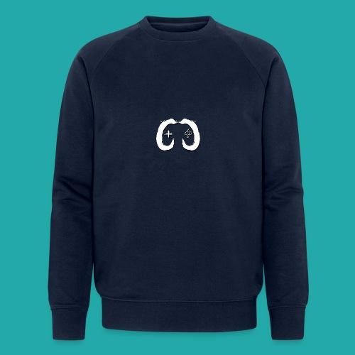 Crowd Control Logo - Men's Organic Sweatshirt by Stanley & Stella