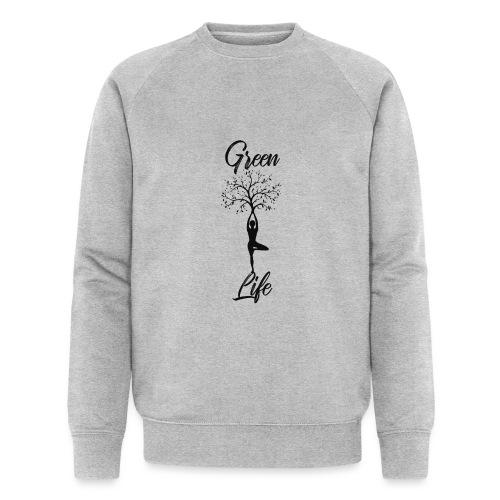 Greenlife Yoga Leben Nachhaltig Klimawandel - Männer Bio-Sweatshirt von Stanley & Stella