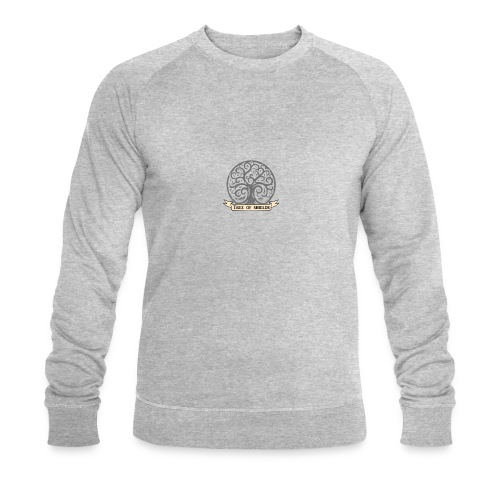 TOS grey tiny 3in png - Men's Organic Sweatshirt by Stanley & Stella