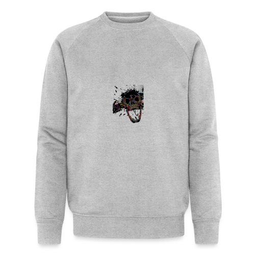 Shot Skull - Men's Organic Sweatshirt by Stanley & Stella
