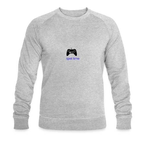 spel time - Ekologisk sweatshirt herr