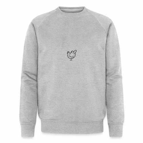 Huhn mit Mittelfinger - Männer Bio-Sweatshirt von Stanley & Stella