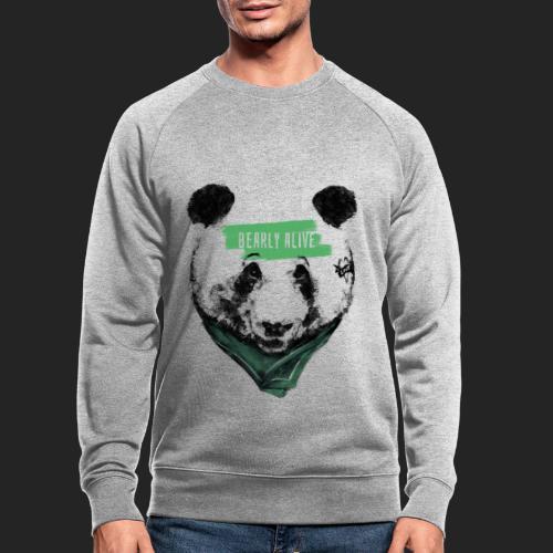 Panda bearly alive - Sweat-shirt bio