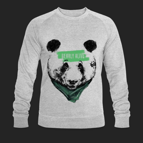 Panda bearly alive - Sweat-shirt bio Stanley & Stella Homme