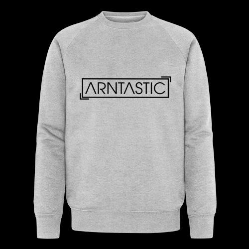 ARNTASTIC LOGO schwarz - Männer Bio-Sweatshirt von Stanley & Stella