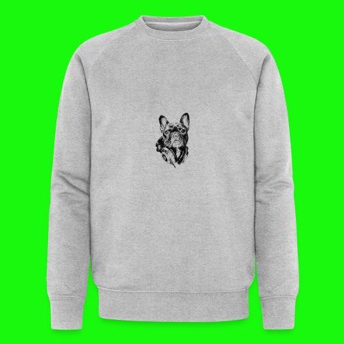 Small_Dog-_-_Bryst_- - Økologisk Stanley & Stella sweatshirt til herrer
