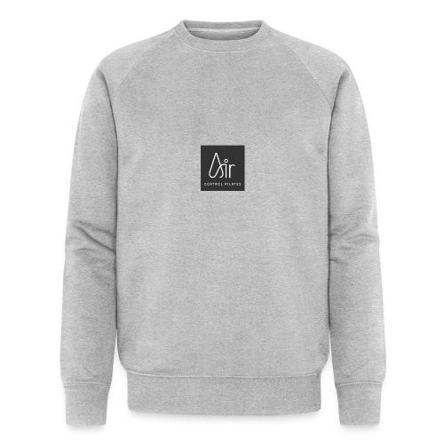 Air Control Pilates Grey - Men's Organic Sweatshirt by Stanley & Stella